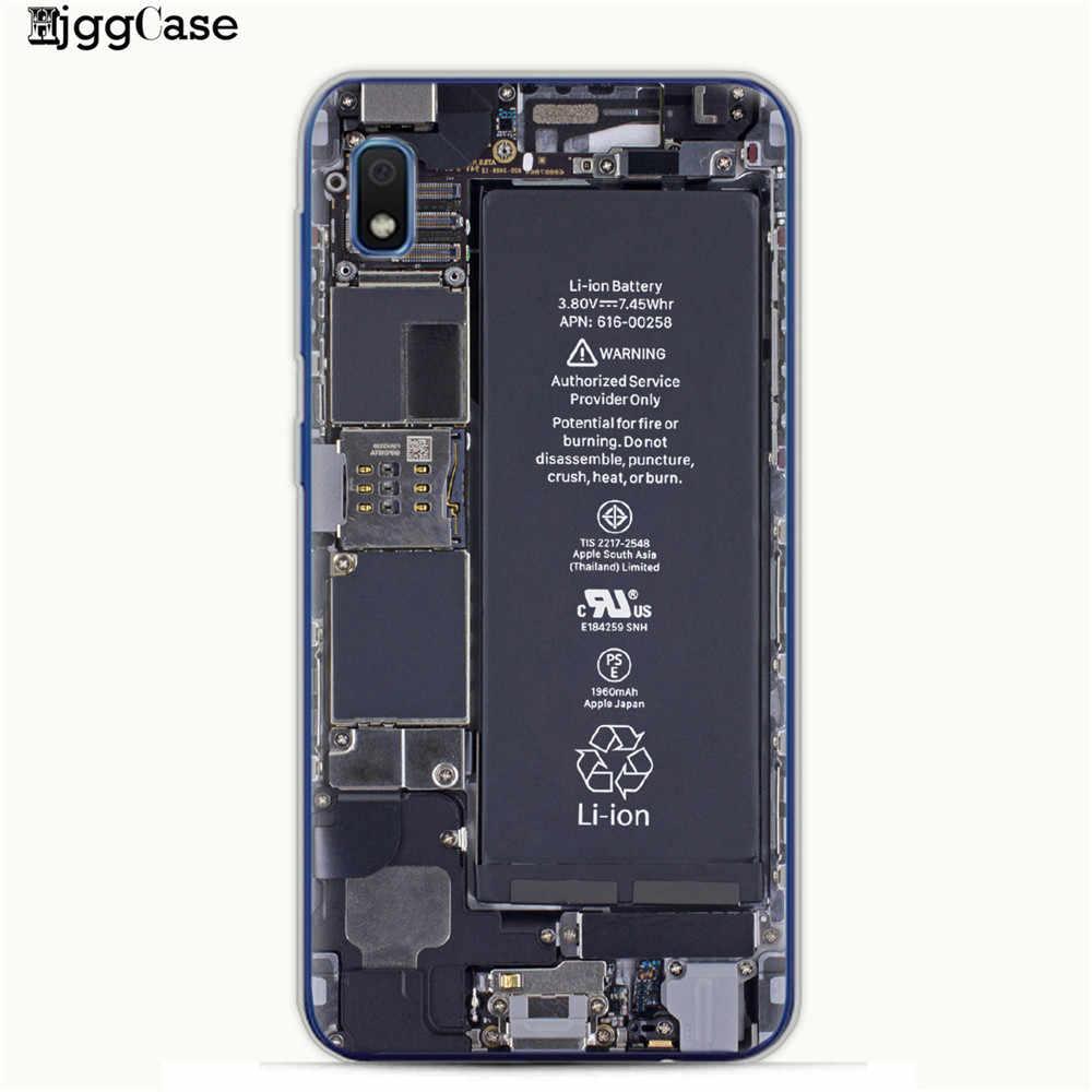 Vintage Tape Kamera GameBoy Pola Dicat Case untuk Samsung Galaxy M10 M20 M30 S10 S10e S9 S8 Plus A10 A20 a30 A50 A70 Cover