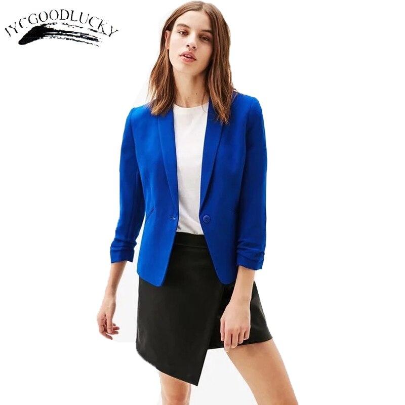 Vintage Cardigan Jacket Women Long Sleeve Solid Color Casual Turn Down Jacke Slender Office Outwear Blazer Dresses