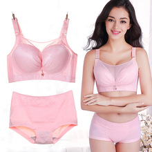 Super size anti-glare tube top bra 50CDE no steel ring thin section big breasts fat MM comfortable gathering shaping underwear