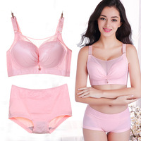 Super size anti glare tube top bra 50CDE no steel ring thin section big breasts fat MM comfortable gathering shaping underwear