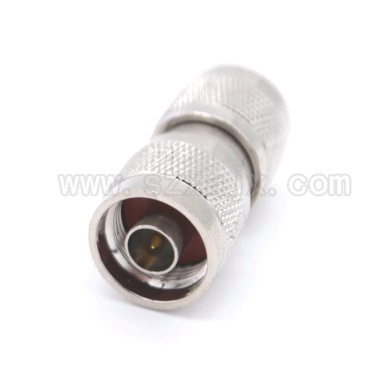 1pcs N type Male plug to N Male plug RF Coax Adapter Connector fast shipping free shipping l16 n type male to male adapter connector n type male connector n jj rf coaxial adapter connector 10pcs lot