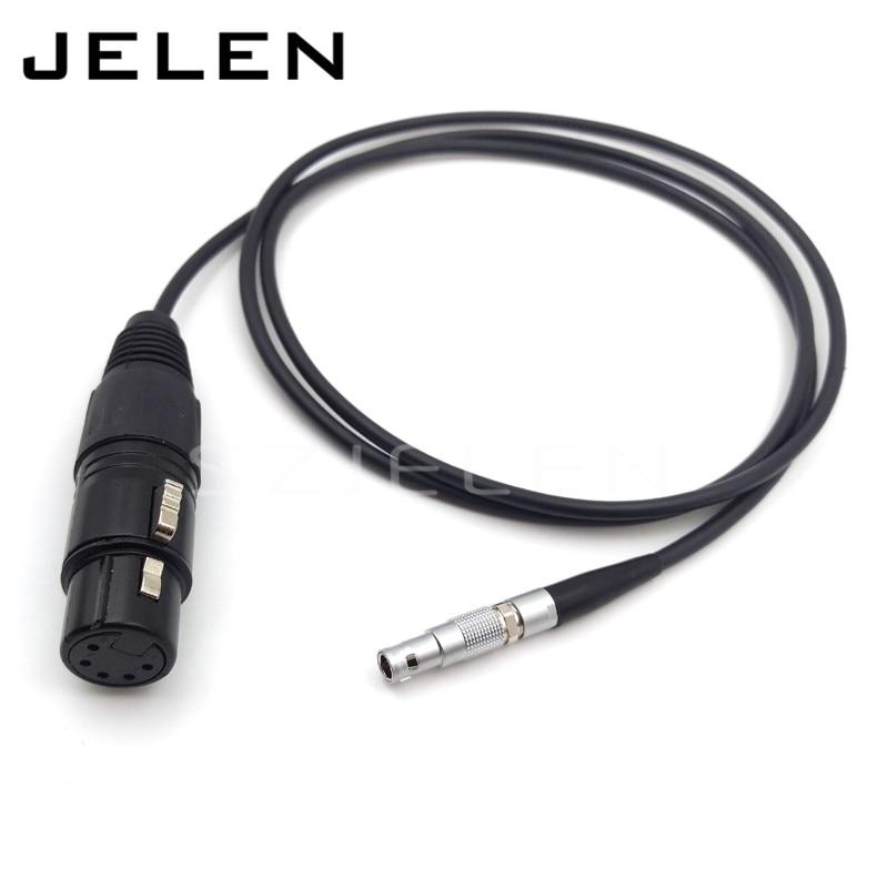 SZJELEN Arri Alexa Mini Audio Cable,XLR 3Pin to 00B 5Pin Audio Cable for Arri Alexa Mini LF