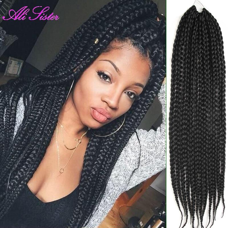 Best crochet braids box braids hair piece havana mambo ...