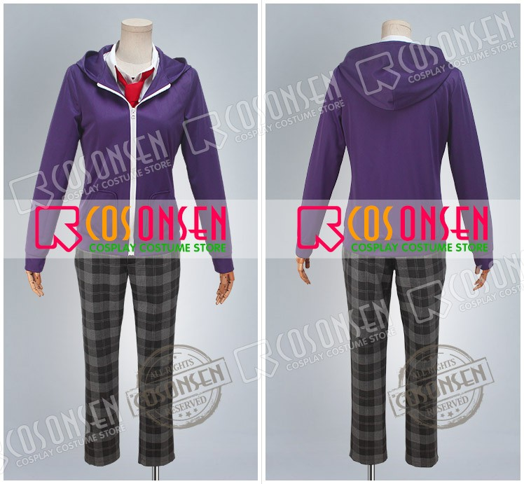Ensemble Stars Private Academy Shinobu Sengoku Cosplay Costume Cosonsen All Size