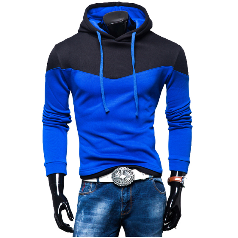 Hoodies Men 2018 Brand Sweatshirt Men Hoodies Fashion Splice Hoodie Mens Tracksuits Moleton Masculino XXL Y88
