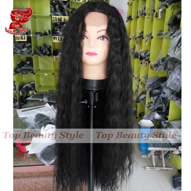 Must Haves 28 Natural Black 2 Color Wig Japanese Hair Loose Curly