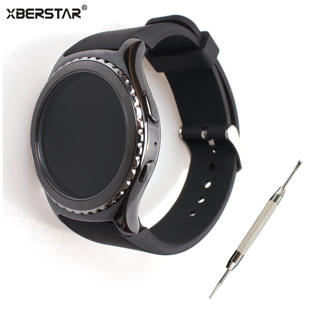 Sport durable Silicone Strap Watchband for Samsung Gear S2 Classic SM R732 Watch For MOTO 360