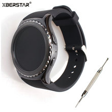 Sport durable Silicone Strap Watchband for Samsung Gear S2 Classic SM-R732 Watch For MOTO 360 2nd smart watch men's 42mm