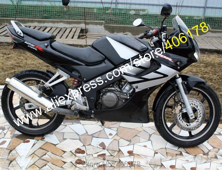 שחור Fairing עבור CBR125R 02-06 CBR 125R 02-06 CBR 125RR CBR125RR 2002 2003 2004 2005 2006 ABS אופני Fairing