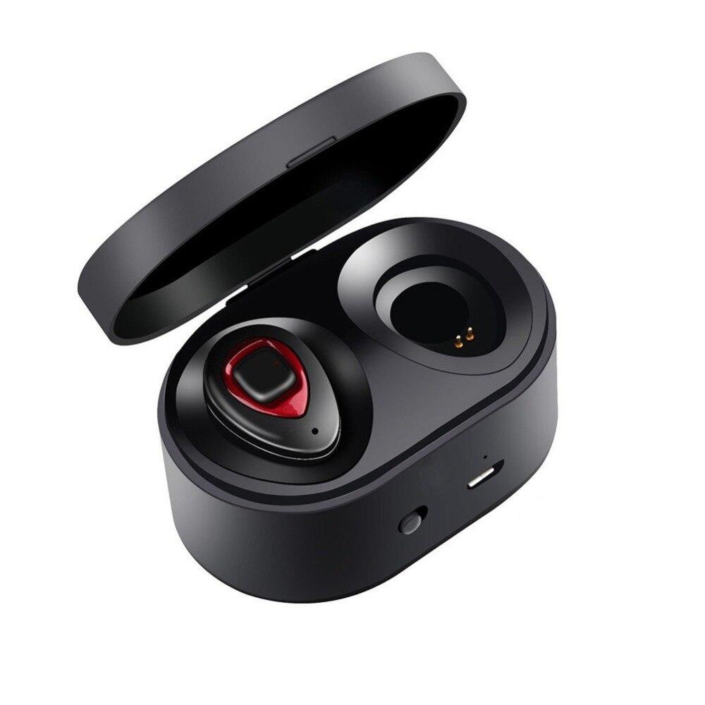 Sago K5S Dual In Eear Bluetooth Auricolari Vero Auricolari Senza Fili con Portatile Casella di Ricarica fone de ouvido Costruire in Mic vivavoce