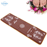 Massage walking carpet health cushion,goose egg stone Foot massage cushion,Finger pressing plate sole foot therapy blanket