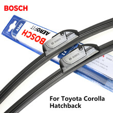 "2pieces/set BOSCH Wiper Blades for Toyota Corolla Hatchback 22""&19"" Fit Hook Arms 2002 2003 2004 2005 2006 2007(China)"