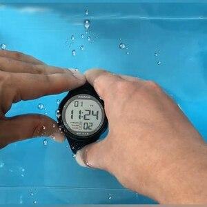 Image 5 - Reloj de pulsera Digital LED para Hombre, Reloj de pulsera deportivo para Hombre, marca de lujo, 100M