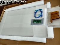 32 inches multi Interactive Touch Foil, transparent 10 points Projective Capacitive Touch Foil film