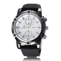 V6 Best Sports Watches For Men Silicone Quartz Wristwatches Analog Relogio Masculino Waterproof Men Top Brand