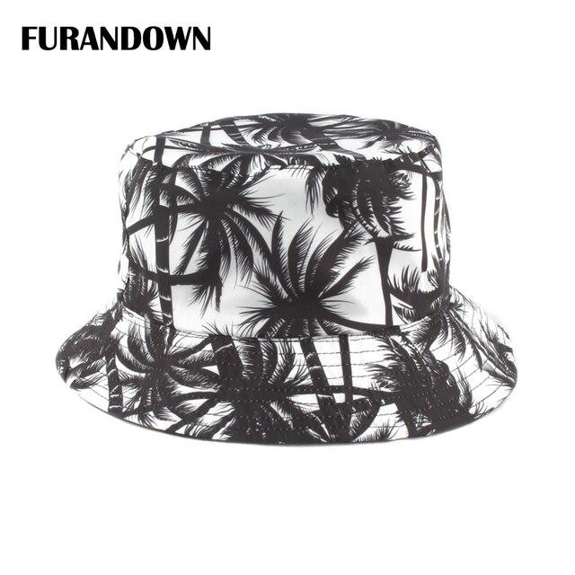 1f801750 Unisex Two Sides Wear Panama Bucket Hat Hip Hop Women Summer Hat Harajuku Bucket  Cap Fishing