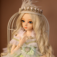 Hot Sale Full Set SuDoll BJD 1/3 Beautiful girl Free Eyes wig clothes all included PVC Doll toys