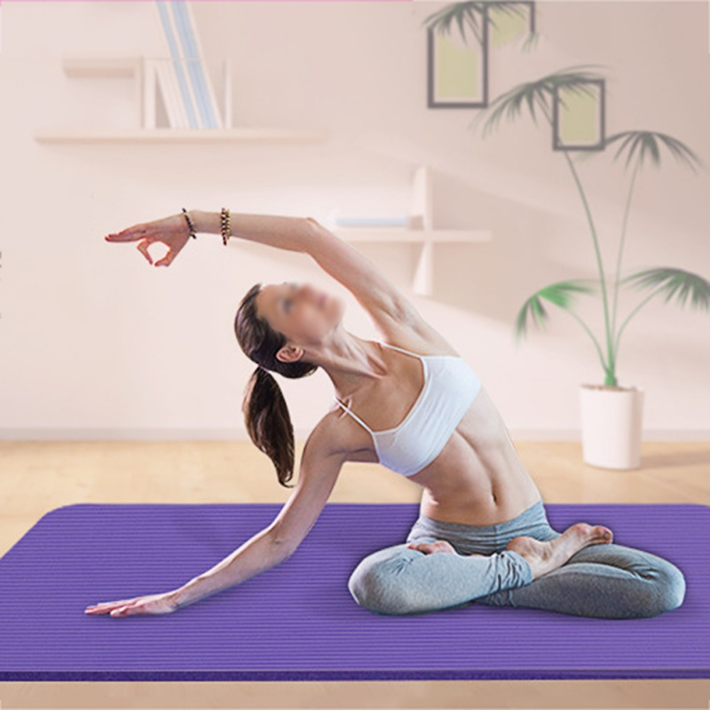 EVA Exercise Pad Thick Non-slip Folding Gym Fitness Mat EVA Yoga Mat Pilates Supplies Non-skid Floor 4 Colors Mat eva thick aluminum yoga mat
