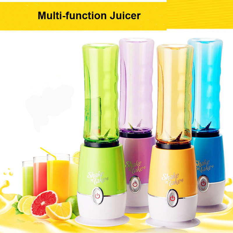 Small Electric Juicer ~ Multi function juicer mini travel fruit juice extractor