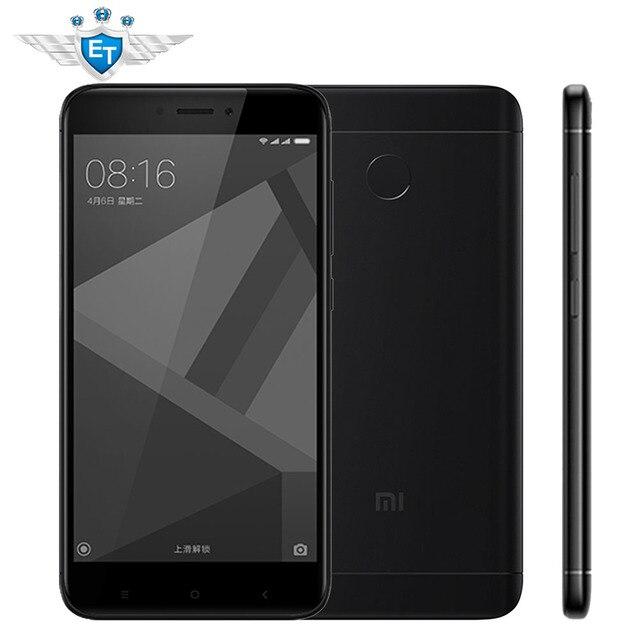 """Xiaomi Redmi 4X Pro 32 ГБ Глобальный Встроенная память 3 ГБ Оперативная память смартфон 5.0 """"HD 64-разрядный Восьмиядерный процессор Qualcomm Snapdragon 435 4100 мАч 13MP MIUI 8.2 OTA"""