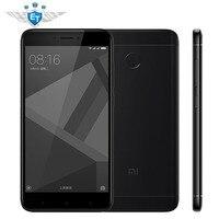 Original Xiaomi Redmi 4X Cell Phones 5 0 2 5D Screen Snapdragon 435 Octa Core 3GB