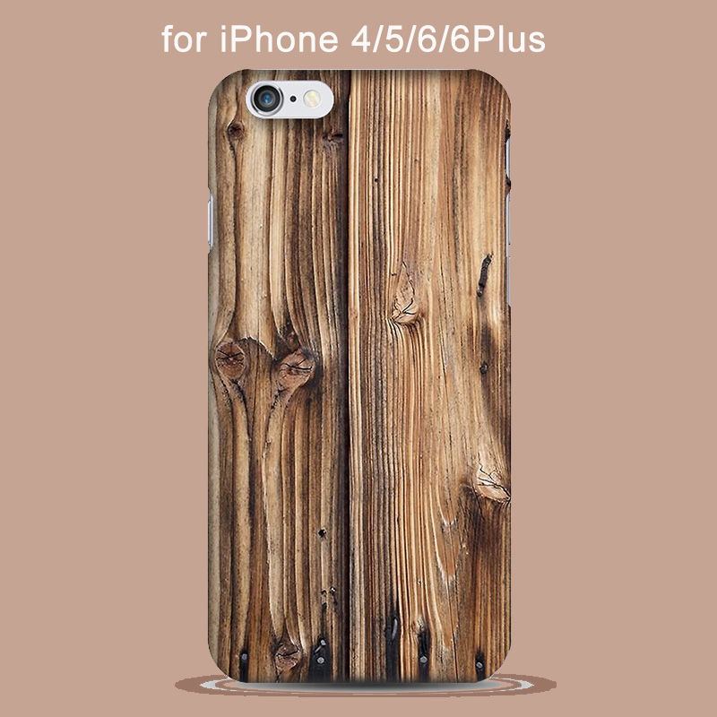 Real Natural Bamboo Wood Hard Case For coque iPhone 8 7 6 6s Plus 5s SE iPhone8 Wood Pattern Phone Cases Accessories Capa Para