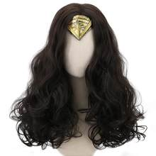 Comic Movie Justice League Wonder Woman Joker Harley Quinn Cosplay Synthetic Hair Wigs for Women Girls Party Costume Halloween(China)