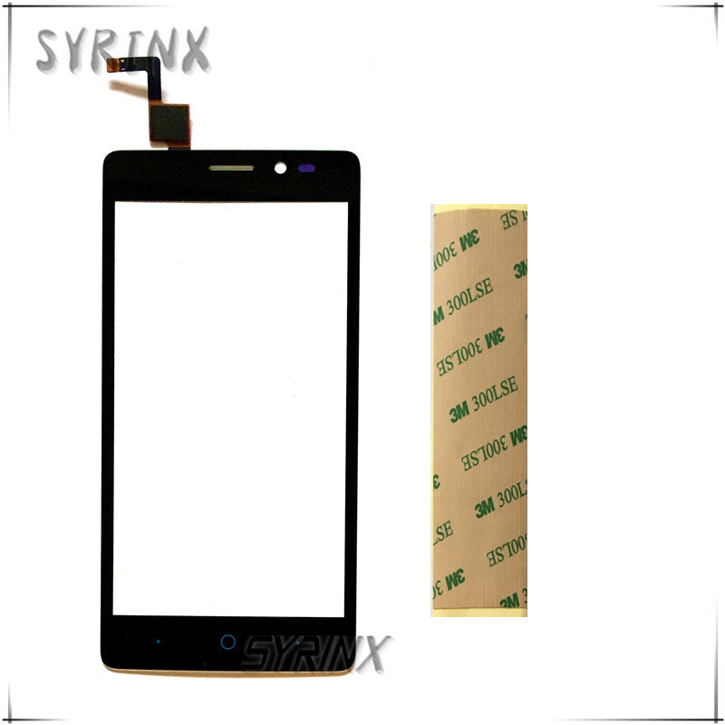 Syrinx Free 3M Tape Touchscreen For ZTE Blade V2 Lite A450 Touch Screen Digitizer Sensor Front Glass Panel Repair Parts