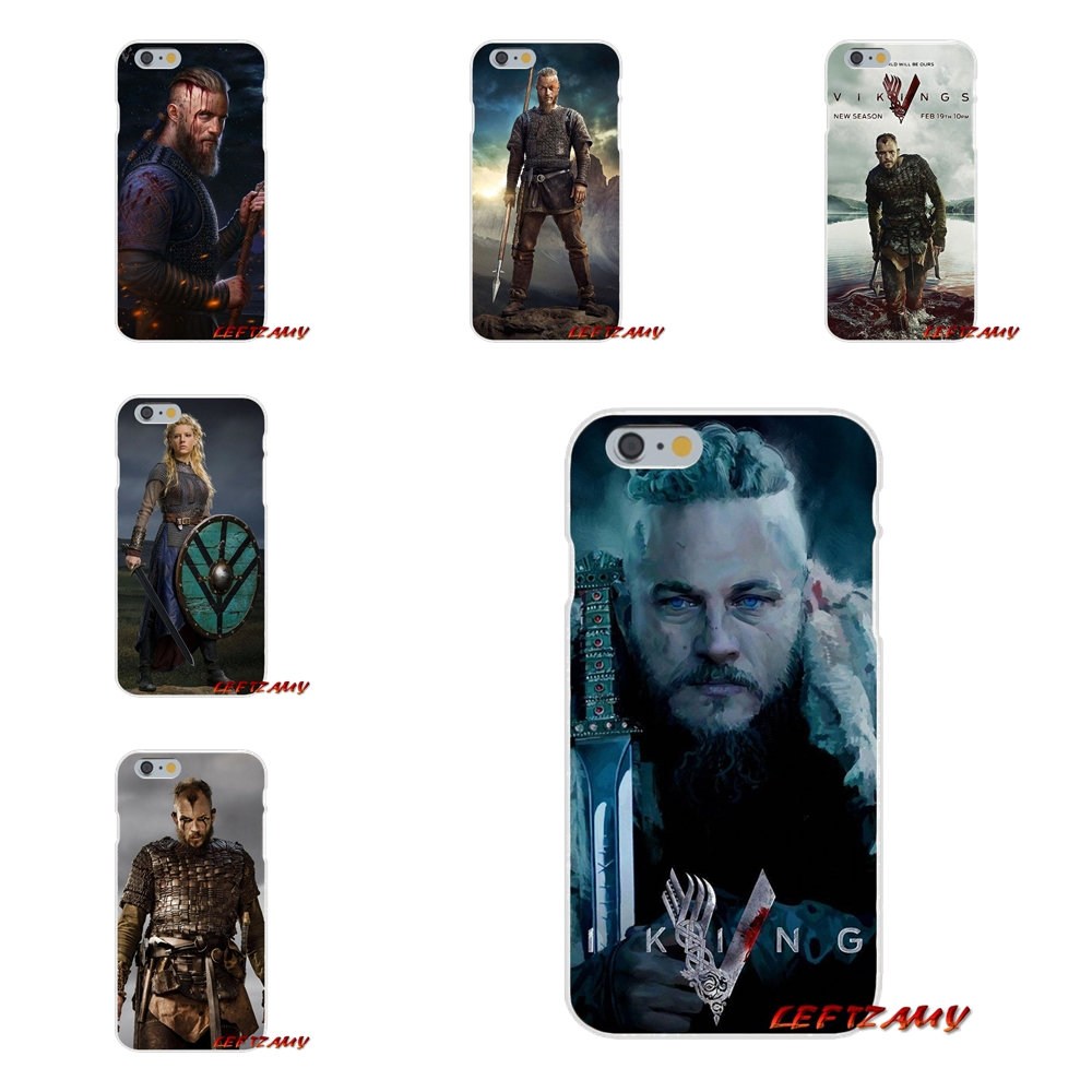 Accessories Phone Cases Covers vikings serie For iPhone X 4 4S 5 5S 5C SE 6 6S 7 8 Plus