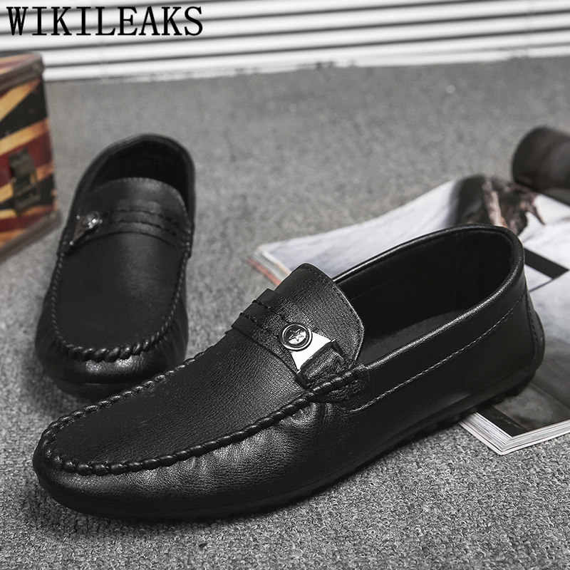 loafers men driving shoes mens casual shoes hot sale leather men shoe luxury brand tenis masculino chaussure homme buty damskie