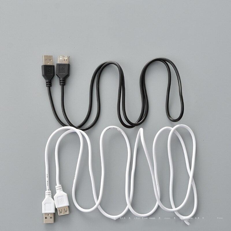 USB кабель-удлинитель, Супер Скоростной USB 2,0 кабель для мужчин и женщин, 1 м, кабель-удлинитель для синхронизации данных USB 2,0