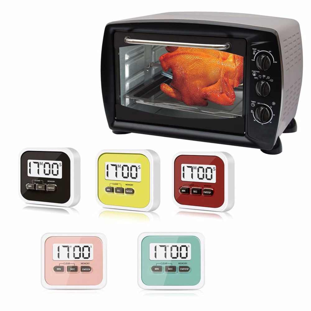 Herramienta de cocina con temporizador electrónico de cocina para cocina con gran pantalla LCD Digital de uso práctico