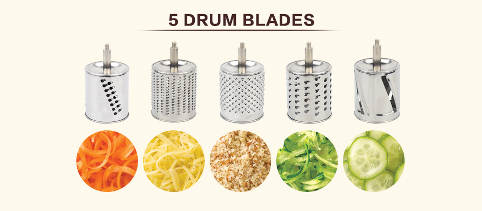 Multi functional kitchen rotary nut & cheese grater _06