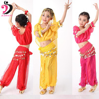 Belly Dance Costume Oriental Costumes Kids Children Belly Dance Dress With 3 Colors Top In Short