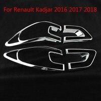 ルノー Kadjar 2016 2017 2018 テールライトカバークロームトリムクロムスタイリングユニバーサル外部装飾|クロムスタイリング|   -