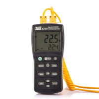 tes1314 thermocouple thermometer Digital professional thermometer with the probe