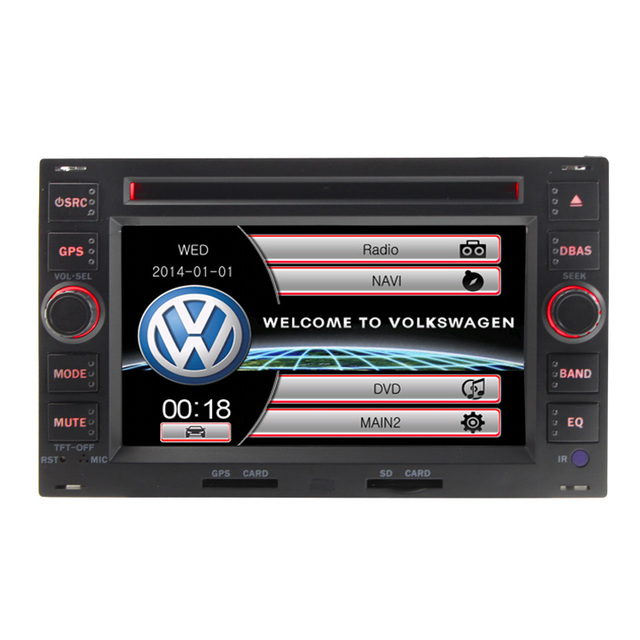Best Stable Car Radio Stereo Video For VW Volkswagen PASSAT B5 6'' Digital Touch Screen Radio Bluetooth GPS Navigation RDS IPOD