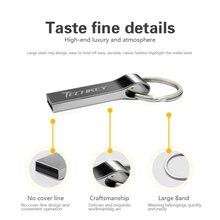 Waterproof Metal USB pen drive 32GB 16GB 8GB Flash Drive with key ring