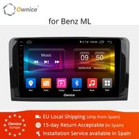 Ownice K1 K2 Car Android 8.1 Car DVD Player For Mercedes Benz ML W164 W300 ML350 ML450 ML500 GL X164 G320 GL350 GL450 GL500