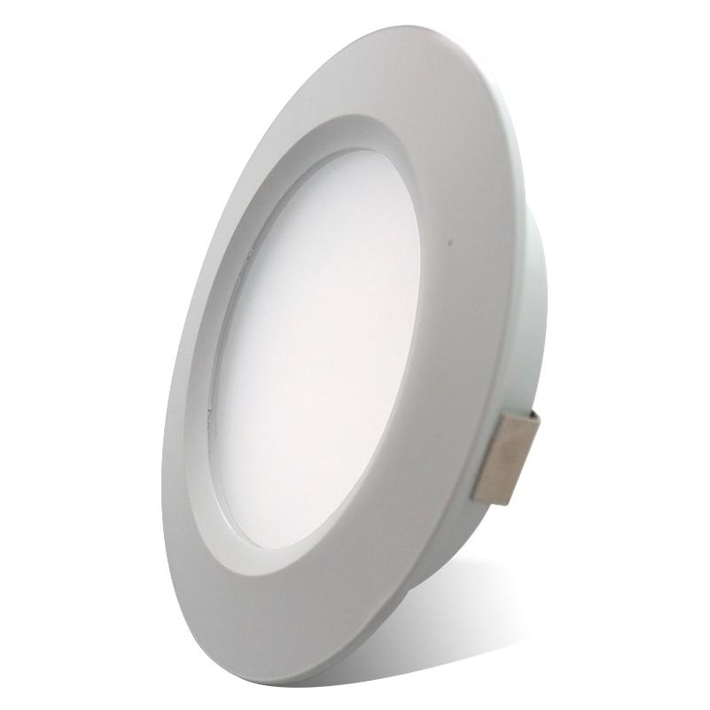 12V LED Recessed Down Light Cool/Warm White Ceiling Lamp Under Cabin interior Light for RV Camper Caravan