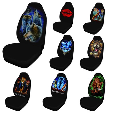1pcs Car Seat Covers Digital Printing Universal Fabric Dustproof Anti-dirty Automobiles Seats Covers Fit For Most Car SUV