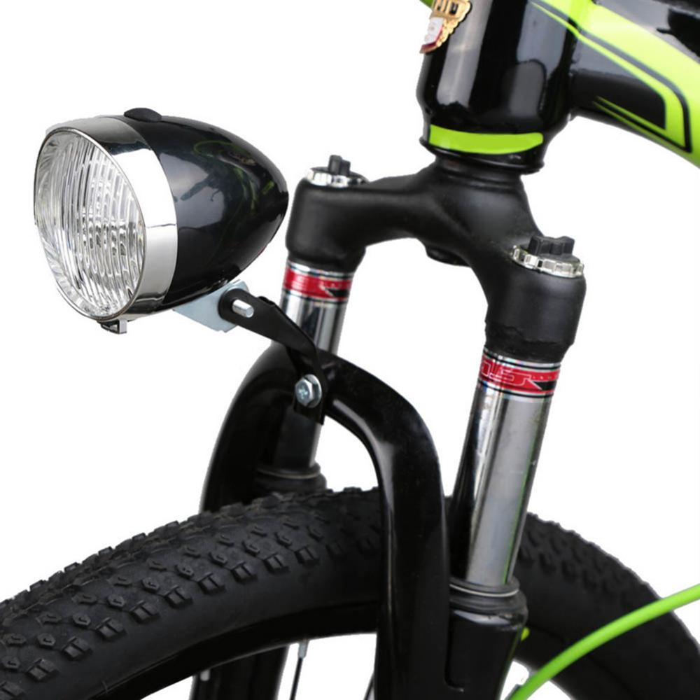 Hawcoar Classic LED Vintage Bike Headlight Cycling Flashlight Retro Rear Head Light Front Fog Lamp For Bicycle Accessories