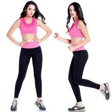 New Sexy Women Yoga Sport Suit Bra Set Female Short-sleeved Summer Sportswear Running Fitness Clothes Sports Bra & Shorts