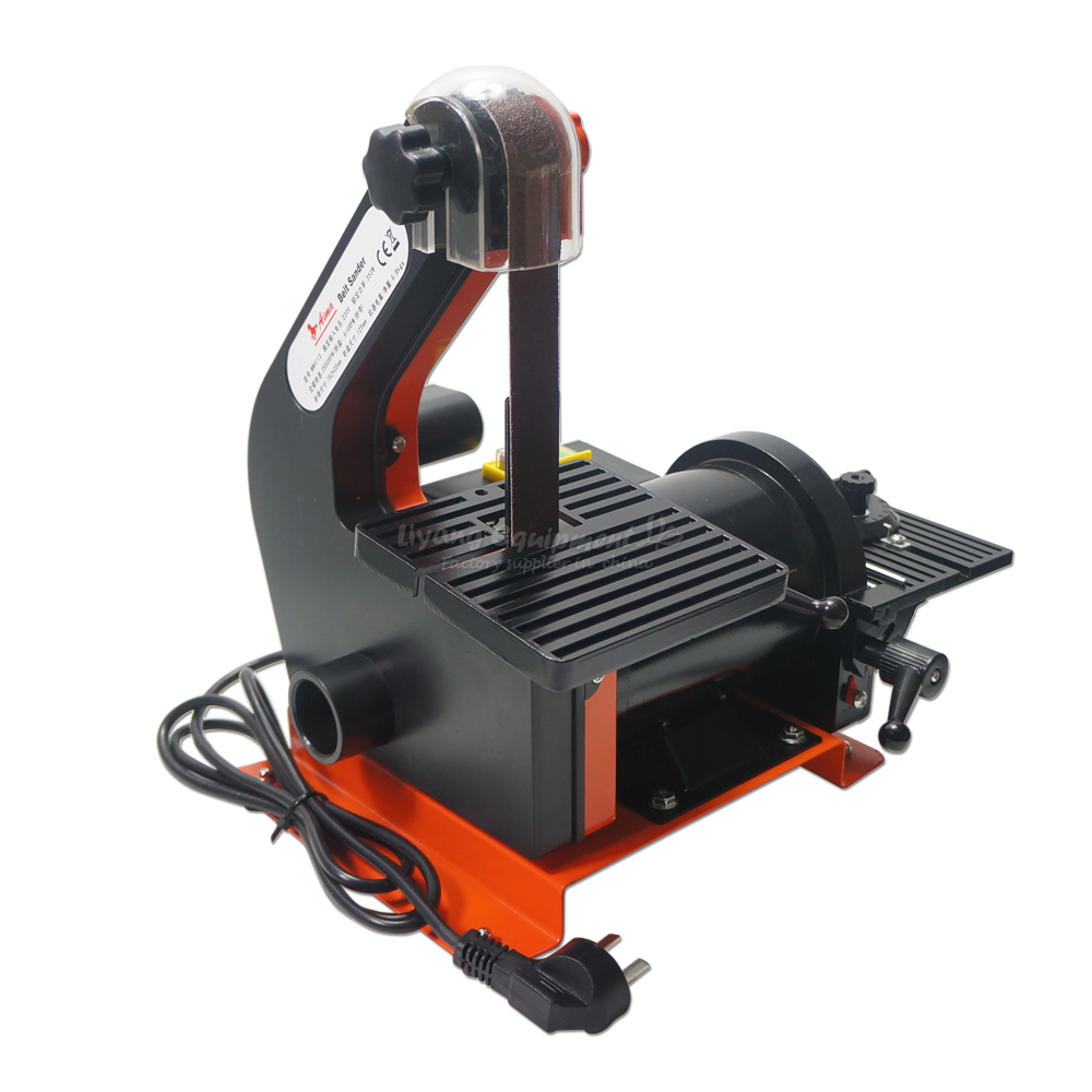 Electronic Belt Sander, polishing machine polisher, Vertical Grinder 25 * 762mm, Russia free tax vertical type abrasive belt machine polishing grinding small bench 915 sand belt