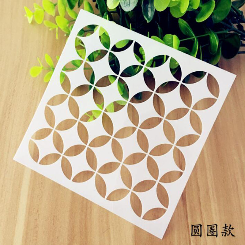 DIY Stencil Reusable Painting Hollow Template Stencils For Painting Wall Scrapbooking Photo Album Embossing Paper Cards Crafts