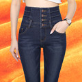 high waisted jeans high waisted jeans skinny taille haute jean fleece jean women winter slim femme black mujer pantalones mujer