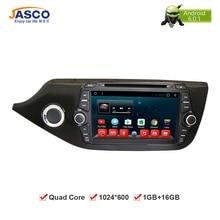 8 «HD Android Dvd-плеер Автомобиля GPS Глонасс Навигации Мультимедиа для Kia Ceed 2013 2014 2015 Авто RDS Радио Аудио Видео стерео
