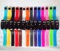 Wholesale 1000pcs/lot Mix14colors LED touch screen bracelet silicone mini electronic watch LT025