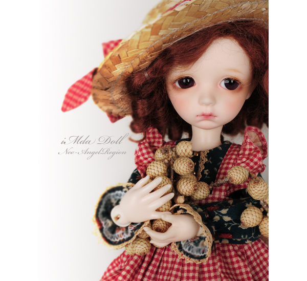 1/6 scale BJD lovely kid imda 2.6 sweet cute girl Colette Resin figure doll DIY Model Toys.Not included Clothes,shoes,wig