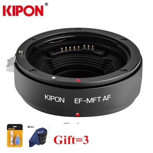 Kipon EF-MFT AF Auto Focus lens adapter for Canon EOS EF lens to Micro 4/3 Adapter MFT mount OM-D GH4 G6 camera переходное кольцо kipon nikon f micro 4 3